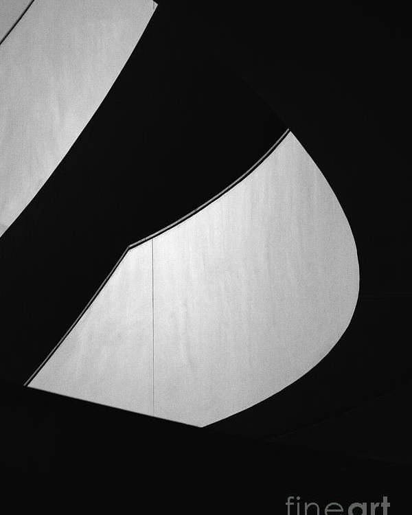 Abstract Poster featuring the photograph Light And Dark by Hideaki Sakurai