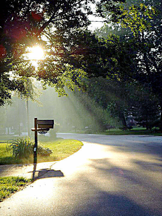 Guy Ricketts Art And Photography Poster featuring the photograph Light The Way Home by Guy Ricketts