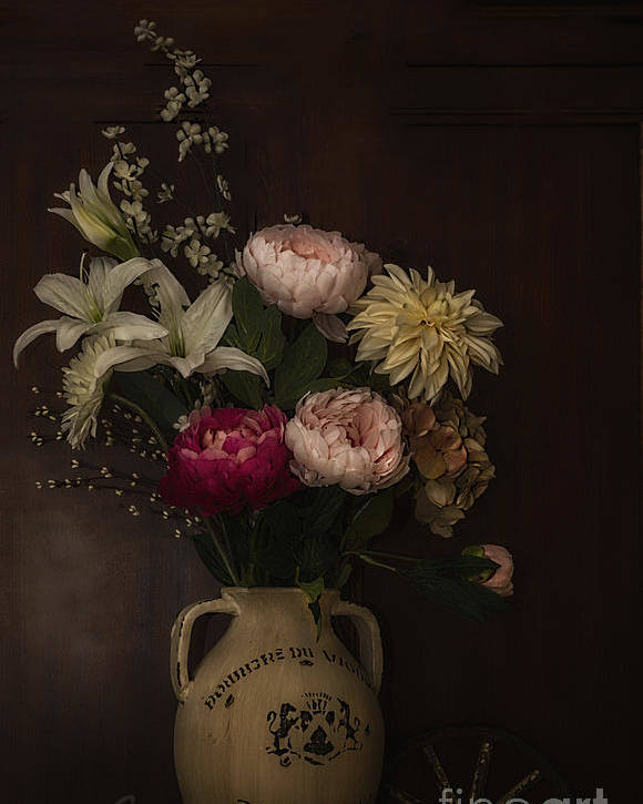 Flowers Poster featuring the photograph Lightened Beauty by Rrea Brown
