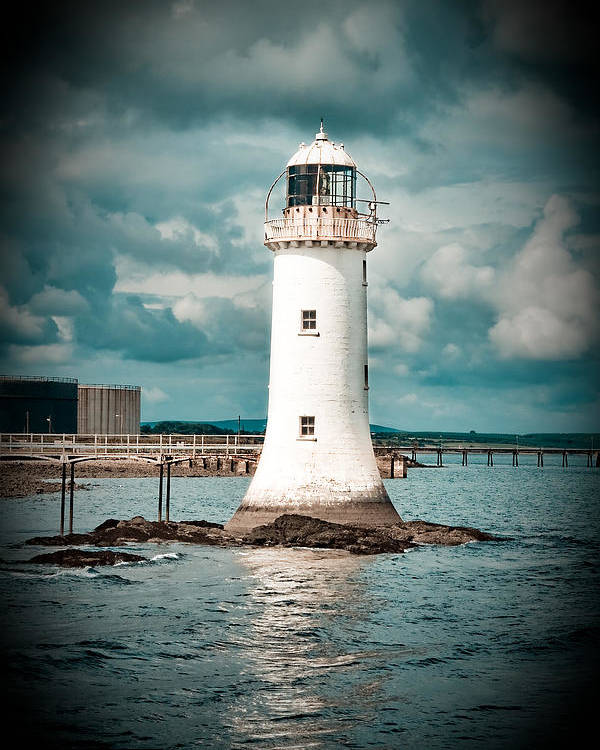 Lighthouse Poster featuring the photograph Lighthouse by Gabriela Insuratelu