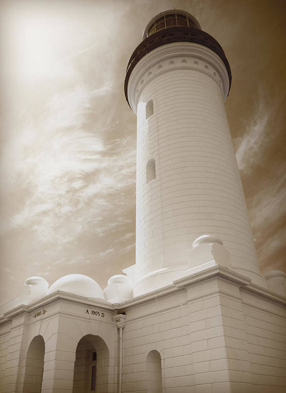 Alarm Poster featuring the photograph Lighthouse by Han Van Vonno