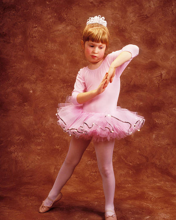 Dancer Poster featuring the photograph Little Dancer by Garry Gay