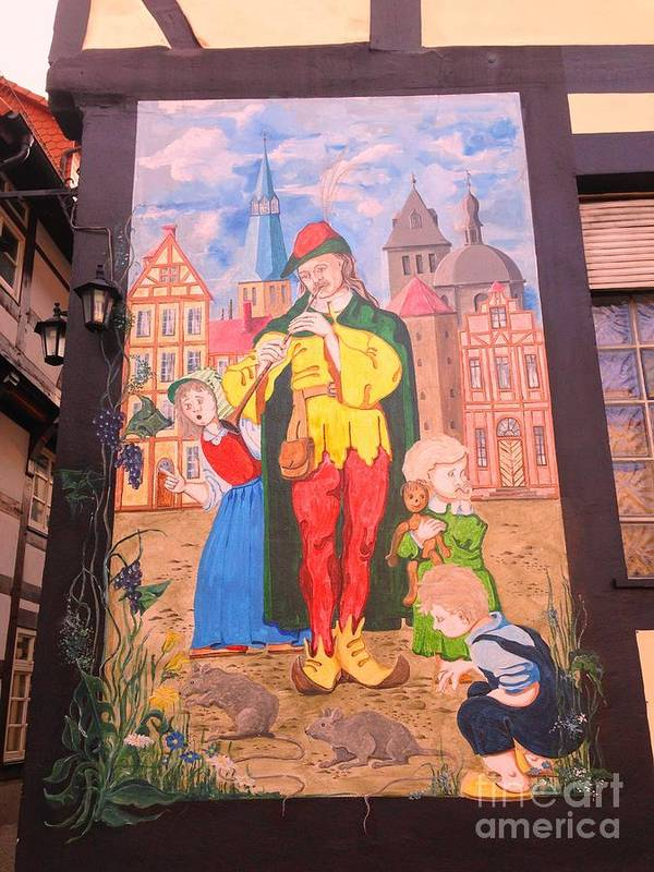 Germany Poster featuring the photograph Little Germany. Hameln by Yelena Wilson