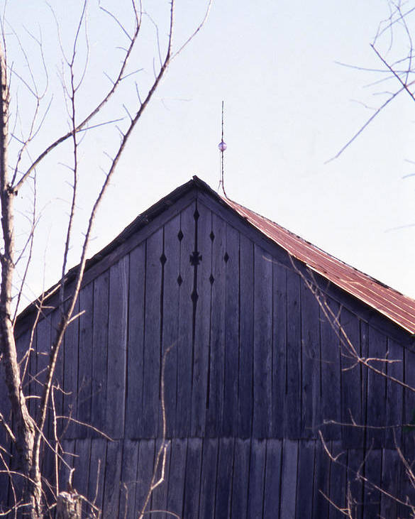 Poster featuring the photograph Lloyd Shanks Barn1 by Curtis J Neeley Jr