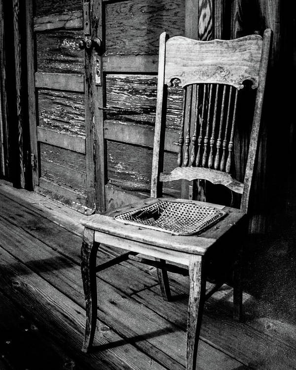 Loomis Ranch Poster featuring the photograph Loomis Ranch Chair by Janine Moore