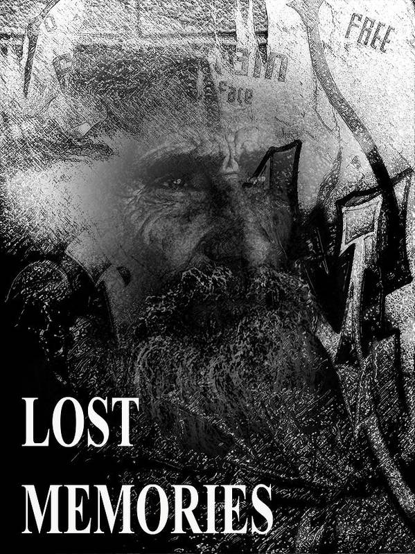 Age Poster featuring the digital art Lost Memories by Michelle Dick