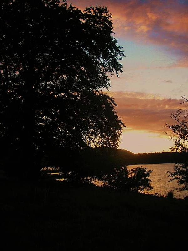 Landscape Poster featuring the photograph Lough Gill Co. Sligo Ireland by Louise Macarthur Art and Photography