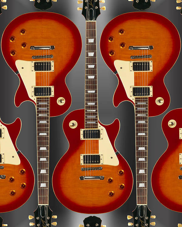 Guitar Poster featuring the photograph Lp - 2 by Mike McGlothlen