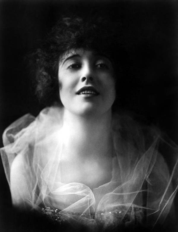 1910s Portrait Poster featuring the photograph Mabel Normand, Ca. 1918 by Everett