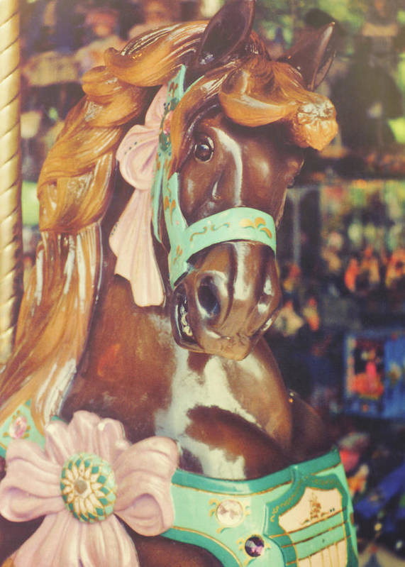 Horse Poster featuring the photograph Magical by JAMART Photography