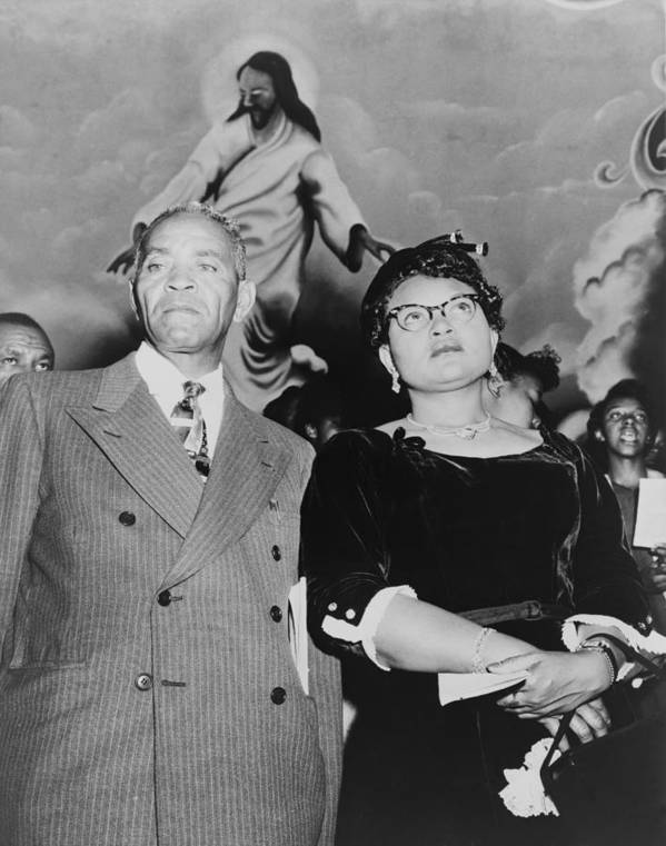 History Poster featuring the photograph Mamie Bradley, Mother Of Emmett Till by Everett