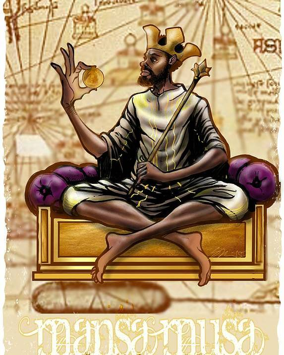 Mansa Musa Poster By Steven Paul