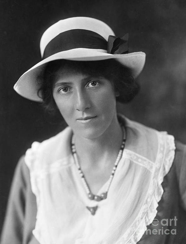 20th Century Poster featuring the photograph Marie Stopes (1880-1958) by Granger