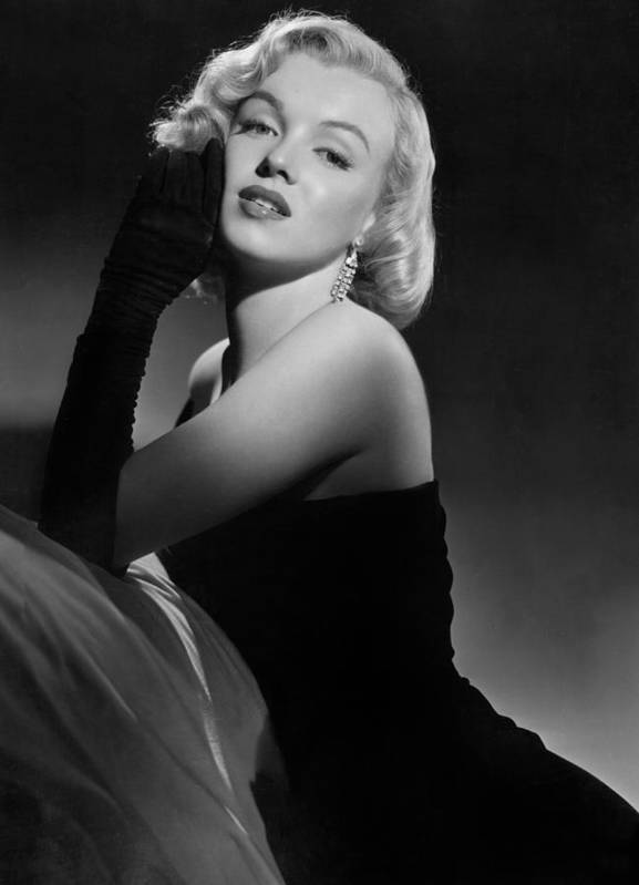 Marilyn Poster featuring the photograph Marilyn Monroe by American School
