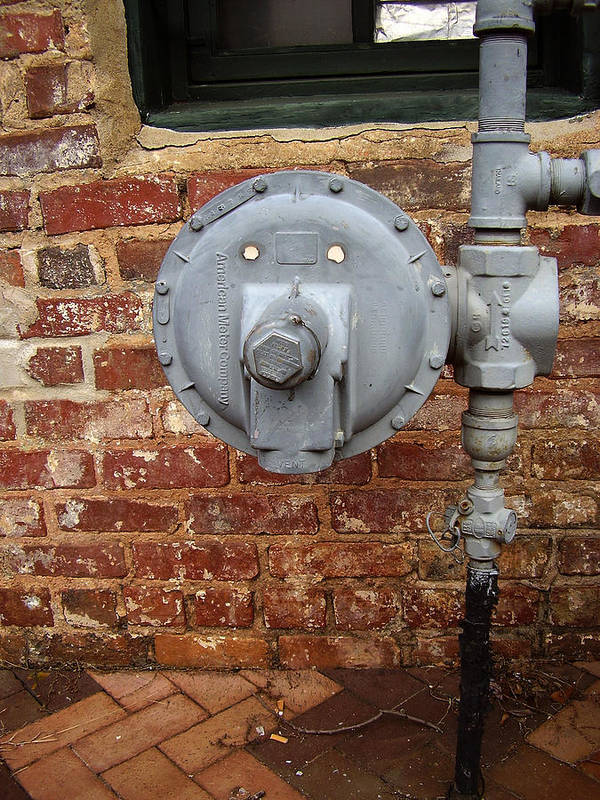 Meter Poster featuring the photograph Meter In Athens Ga by Flavia Westerwelle