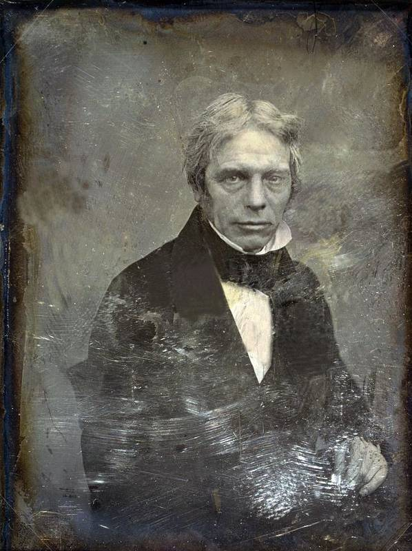 History Poster featuring the photograph Michael Faraday 1791-1867 English by Everett