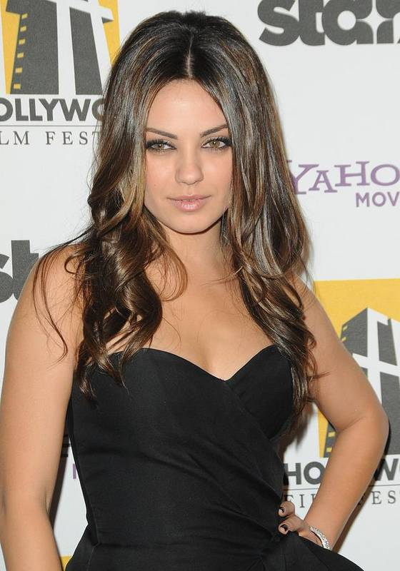 Mila Kunis Poster featuring the photograph Mila Kunis At Arrivals For 14th Annual by Everett