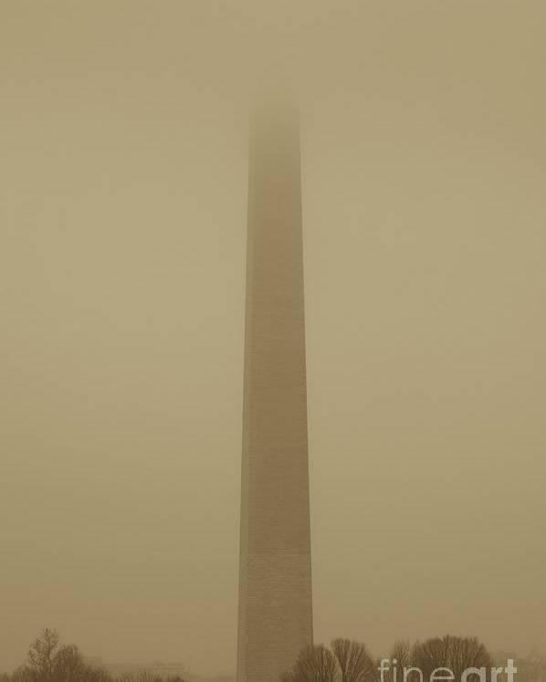 Mist Poster featuring the photograph Misty Sky by Hideaki Sakurai
