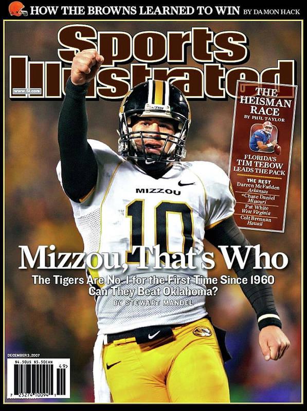 MIZZOU THAT'S WHO, Sports Illustrated, Chase Daniel by Thomas Pollart
