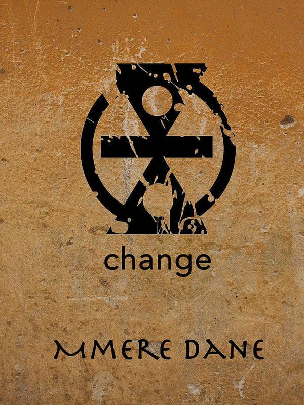 Mmere Dane Adinkra Symbol Poster By Kandy Hurley
