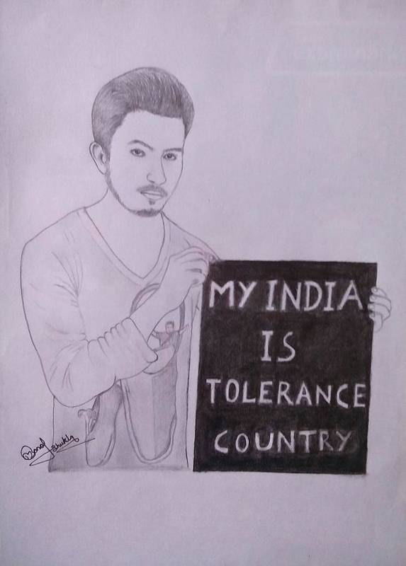 My India Is Tolerance Country Poster