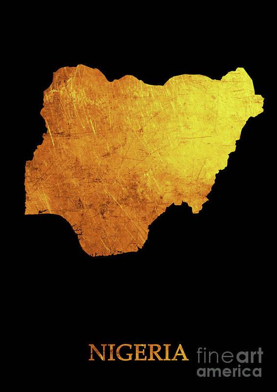 Nigeria - Gold black by Prar Kulasekara
