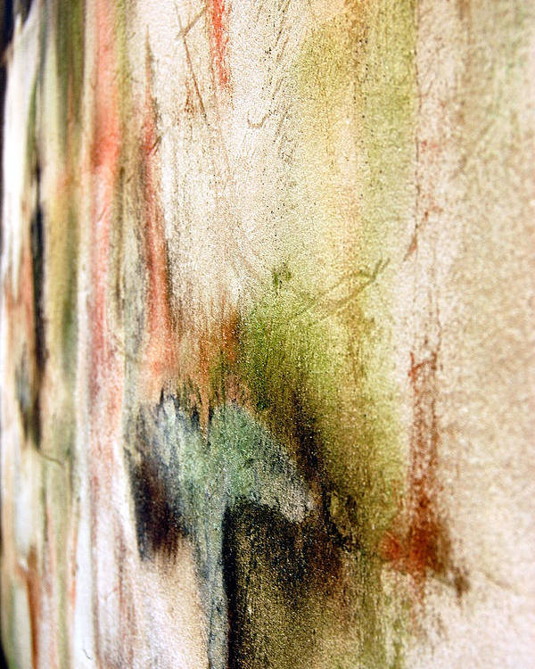 Abstract Poster featuring the photograph Nj Abstract Four by Heather S Huston