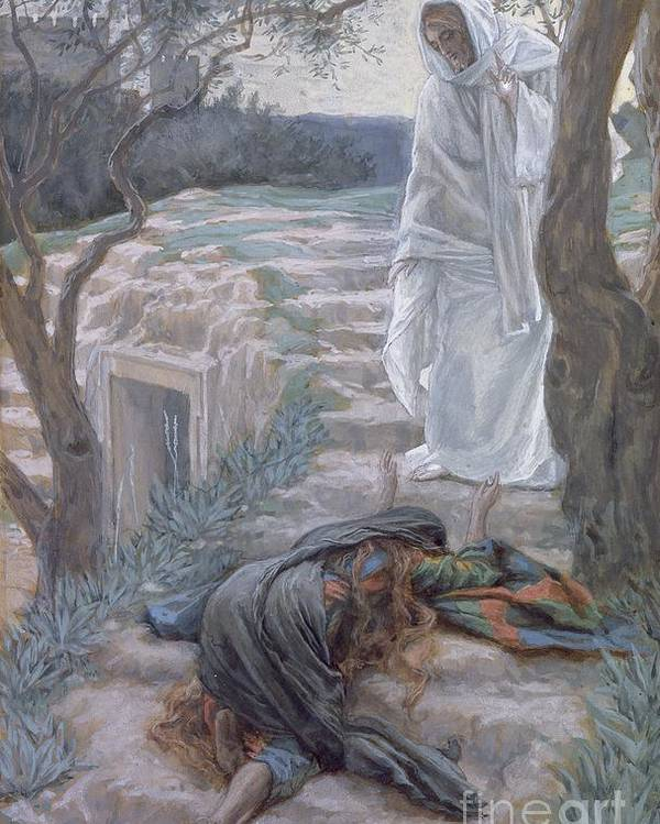 Noli Poster featuring the painting Noli Me Tangere by Tissot