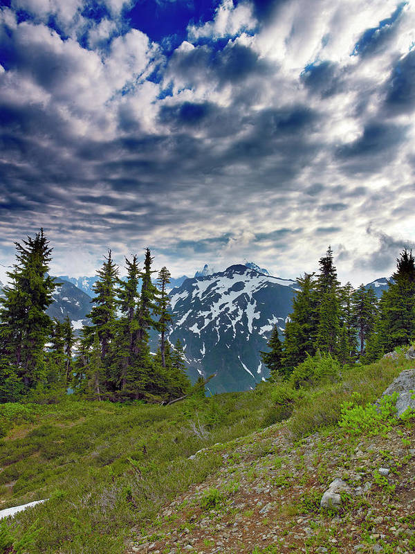 Mountains Poster featuring the photograph North Cascades National Park - Washington by Brendan Reals