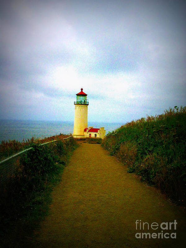 North Head Lighthouse Poster featuring the photograph North Head Lighthouse V by Mg Blackstock