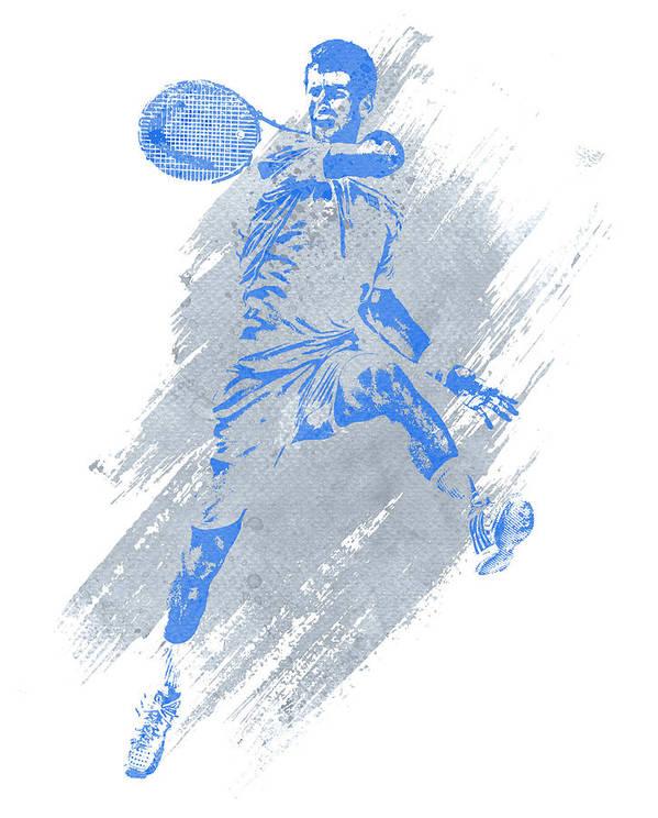 "NOVAK DJOKOVIC TENNIS Poster 24/"" X 36/"" NEW 2"