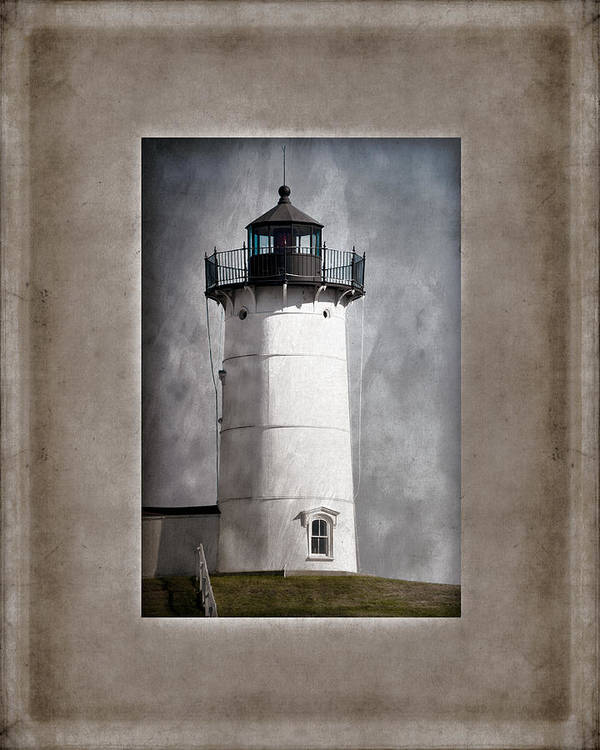 Cape Neddick Poster featuring the photograph Nubble Light Maine by Carol Leigh