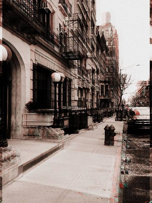 Digital Poster featuring the photograph Nyc Neighborhood Series by Joseph Paulino