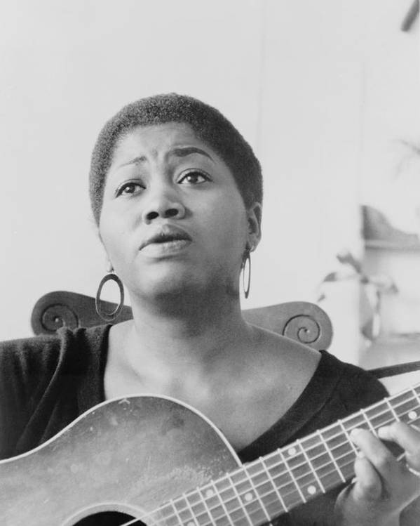 History Poster featuring the photograph Odetta Holmes 1930-2008, African by Everett