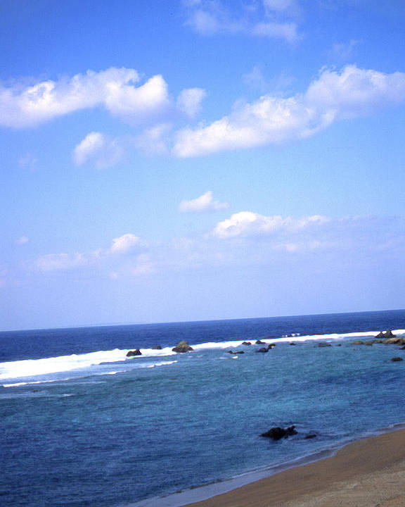 Okinawa Poster featuring the photograph Okinawa Beach 7 by Curtis J Neeley Jr
