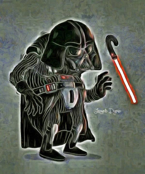 I'M BACK!! Dark Master Old-darth-vader-leonardo-digenio