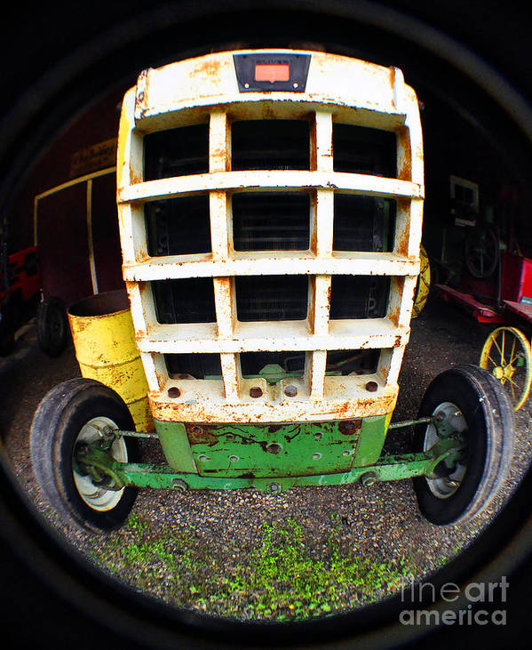 Clay Poster featuring the photograph Old Tractor by Clayton Bruster