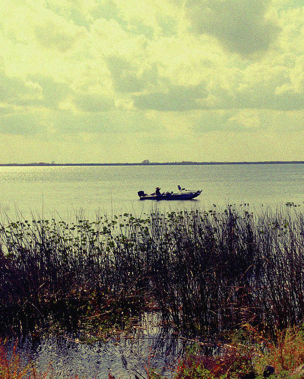 Boat Poster featuring the photograph On A Sunny Sunday Afternoon by Susanne Van Hulst