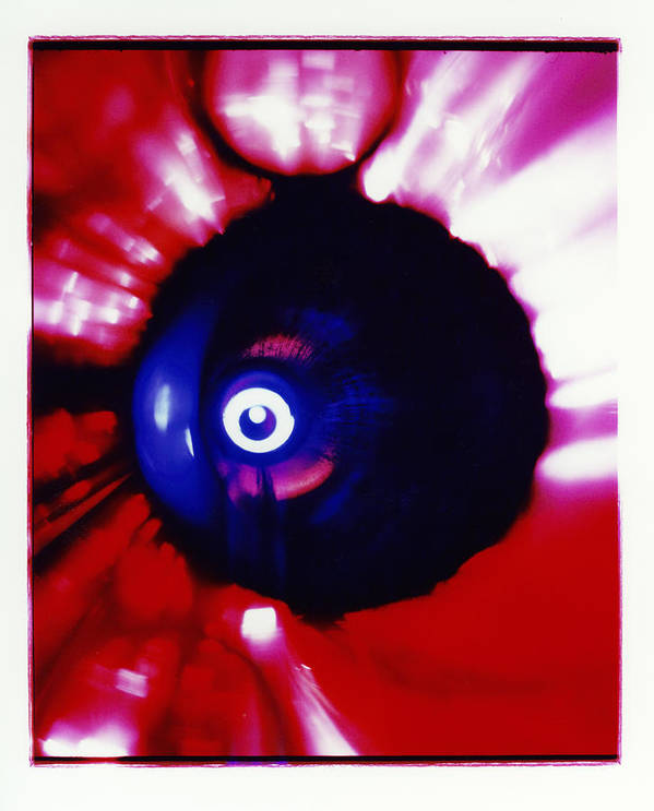 Abstract Poster featuring the photograph Oracle by David Rivas