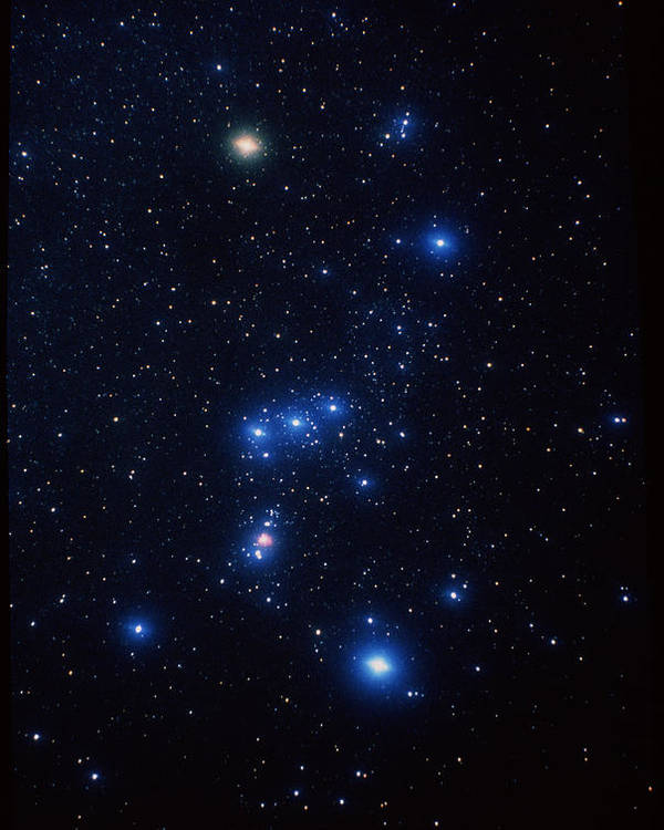 Orion Constellation Poster featuring the photograph Orion Constellation by John Sanford