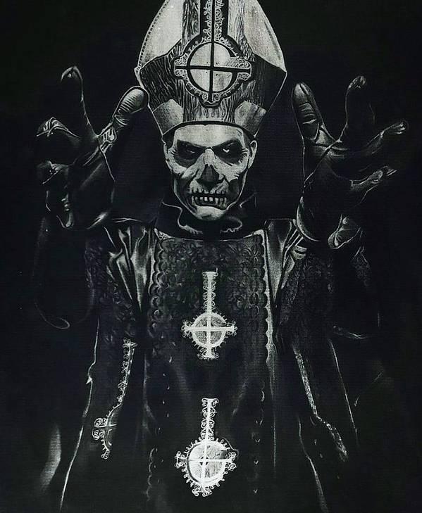 Papa Emeritus Ii Poster By Sierra Van Hoose