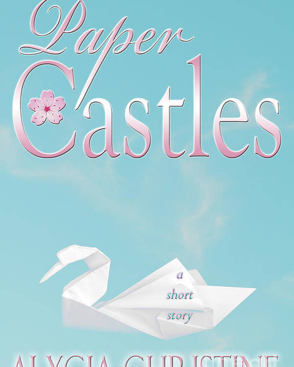 Origami Poster featuring the digital art Paper Castles by Alycia Christine
