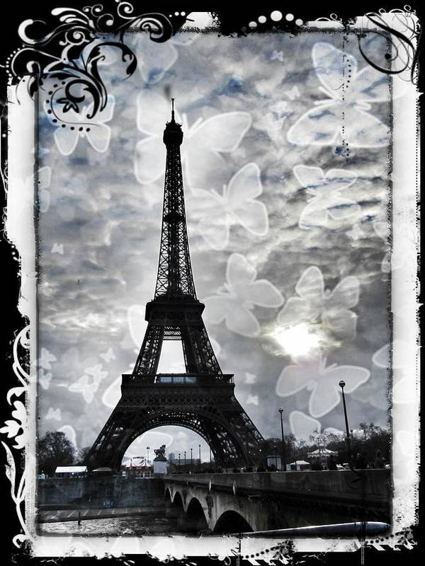 Paris Poster featuring the photograph Paris by Marianna Mills
