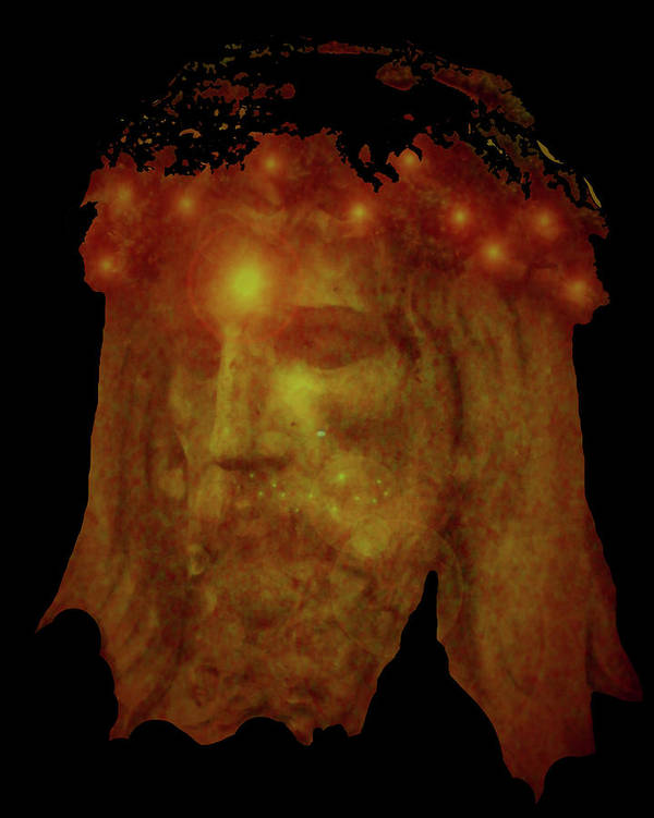 Catholic Spirituality Poster featuring the mixed media Passion No. 02 by Ramon Labusch