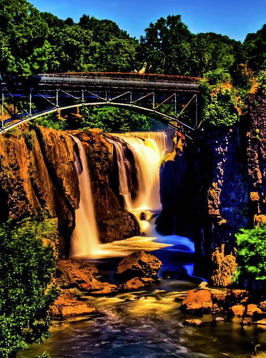 Great Falls Poster featuring the photograph Paterson's Great Falls IIi by David Hahn