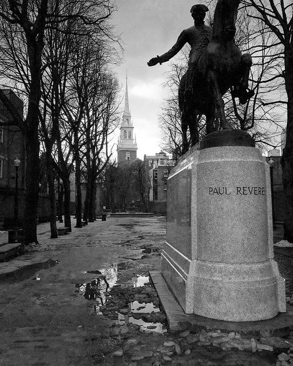 Architecture Poster featuring the photograph Paul Revere by Andrew Kubica
