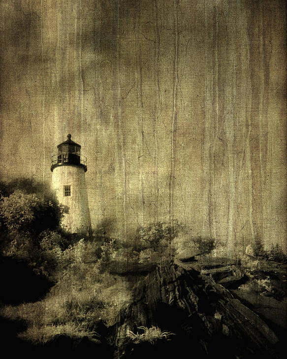 Water Poster featuring the photograph Pemaquid Point by Christine Hauber