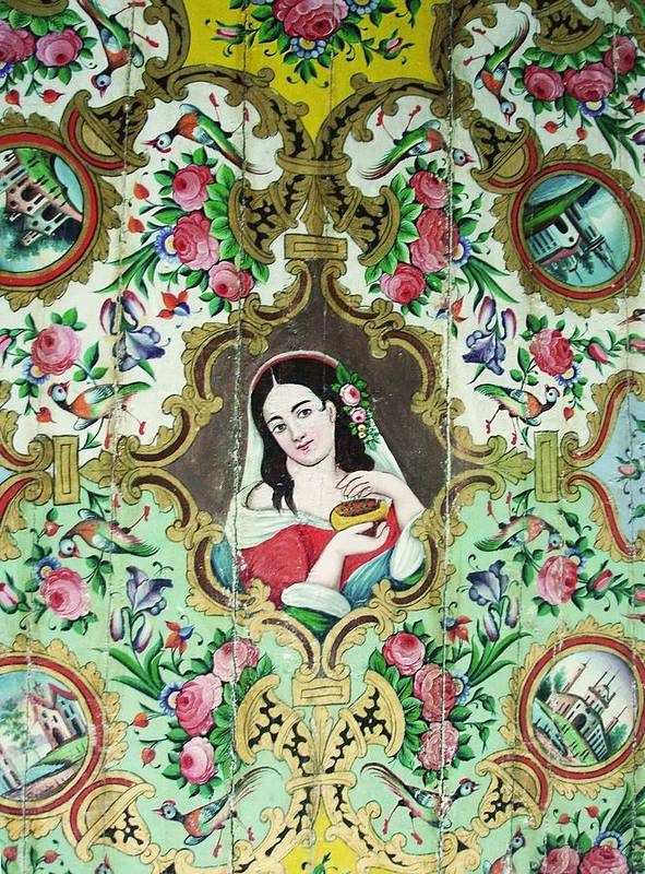Persian Poster featuring the photograph Persian Lady by Sonja Rohde