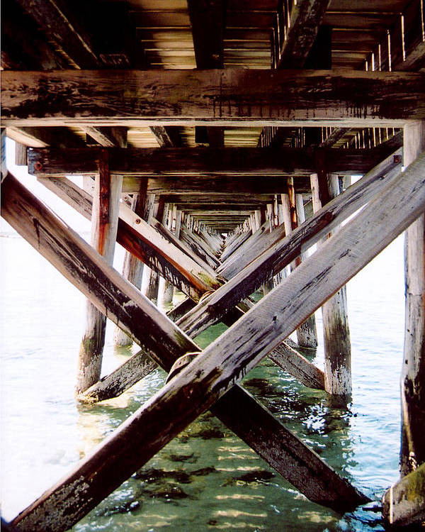 Dock Poster featuring the photograph Perspective I by Greg Fortier
