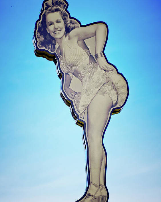 Pin Up Girl Betty Canvas Print 20*30 Inch HUGE !